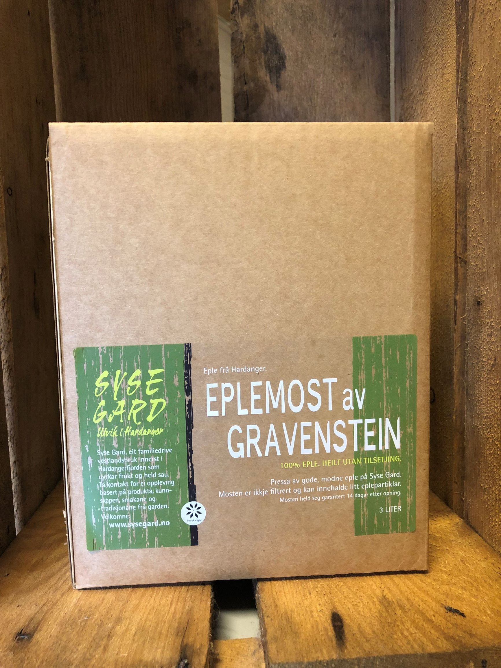 eplemost  3L  gravenstein